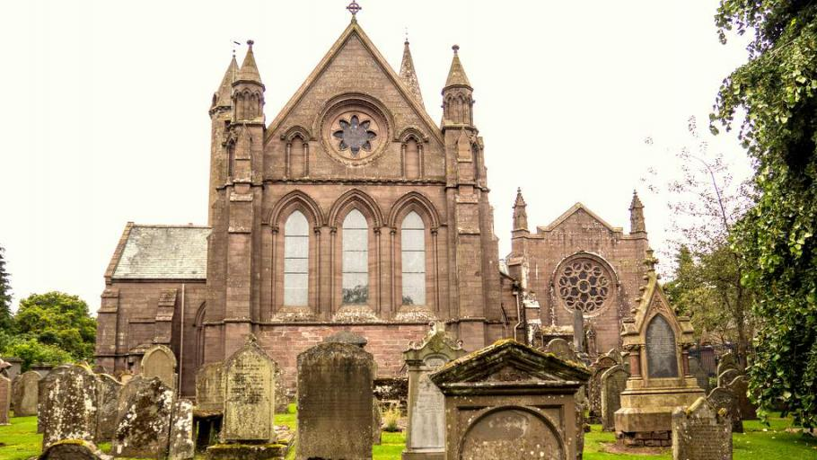 Brechin Cathedral - Photo by Duntrune House in Dundee