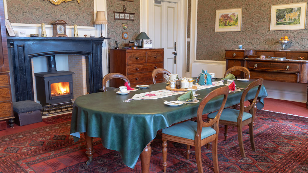 Dining room at Duntrune House B&B