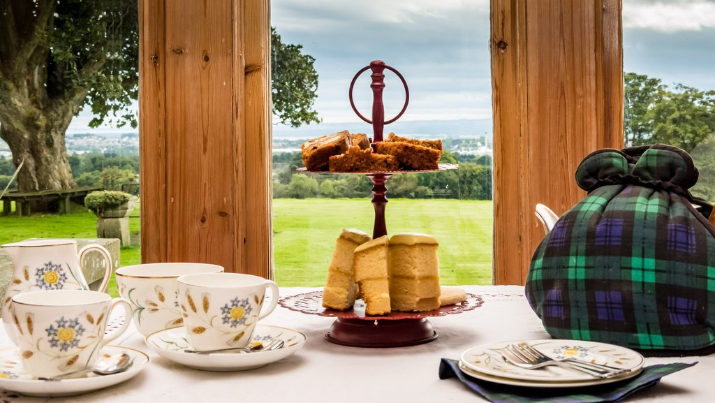 Afternoon Tea at Duntrune House