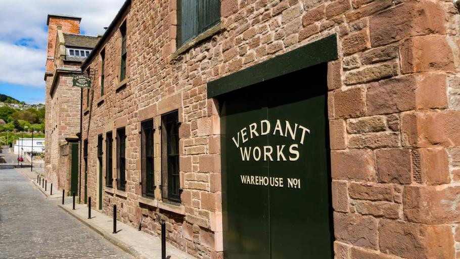Verdant Works - Photo by Duntrune House, Dundee