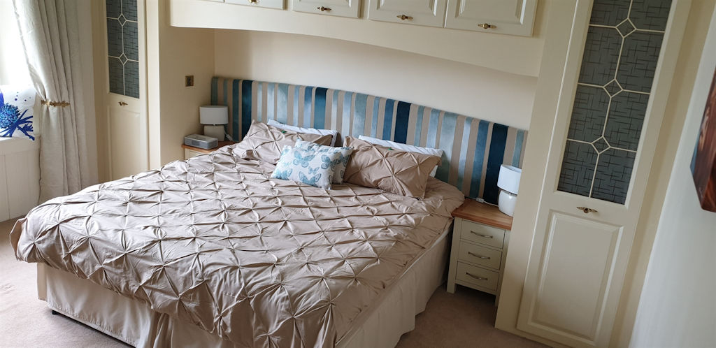 Double bedroom at Park House B&B Carnoustie