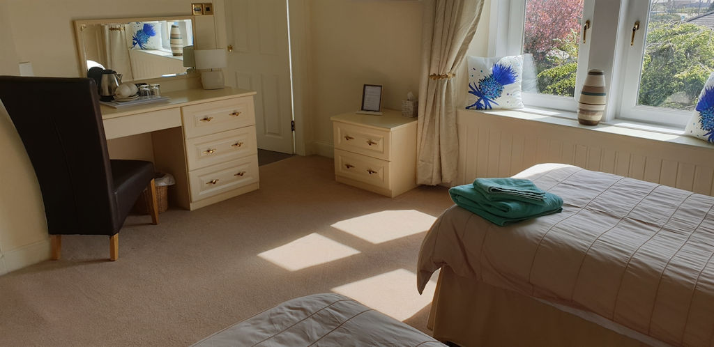 Bedroom at Park House B&B in Carnoustie
