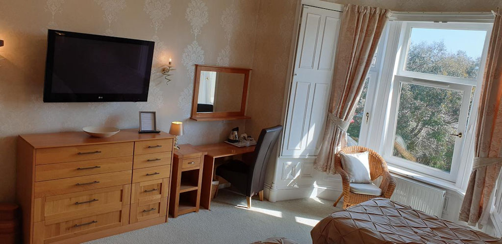 Bedroom at Park House B&B, Carnoustie