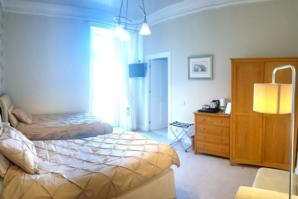 Twin bedroom, Park House