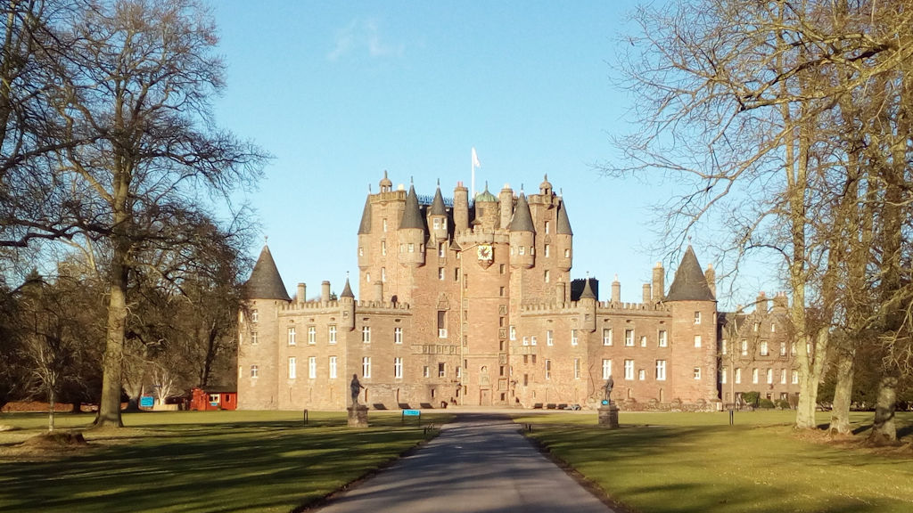 Glamis Castle - photo by Duntrune House