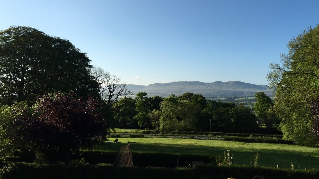 View of the Campsie Fells from Loaninghead B&B