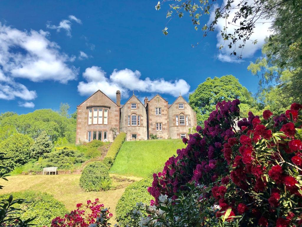 Nithbank Country Estate near Dumfries Scotland