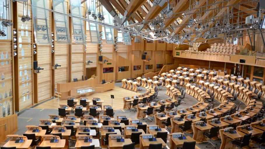Scottish Parliament - Photo by Home Farm, Muir of Ord
