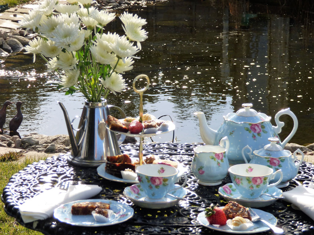 Afternoon tea at the Auld Post Office B&B, Caithness