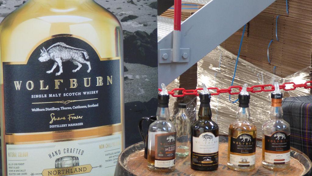 Wolfburn whisky distillery Thurso