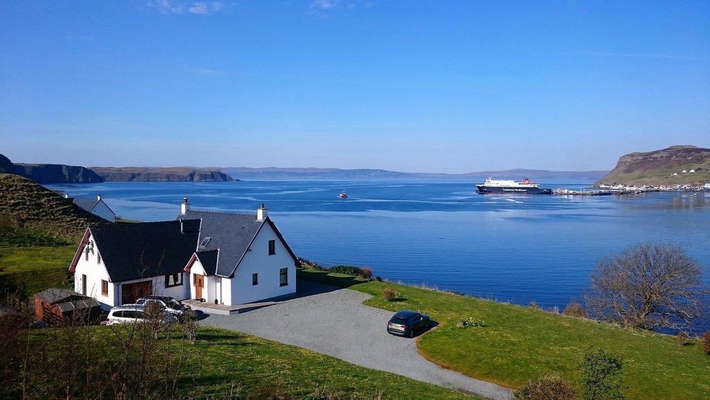 Cuil Lodge on the Isle of Skye