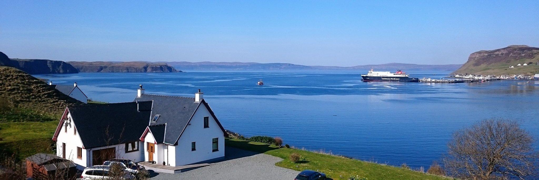 Cuil Lodge B&B on the Isle of Skye