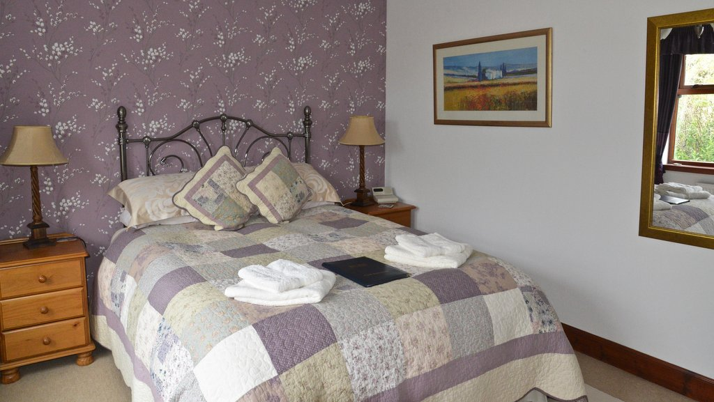 Guest Bedroom at Home Farm, Muir of Ord