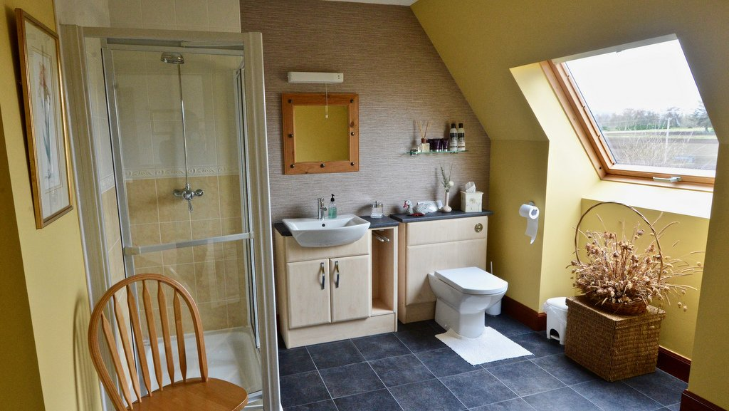 En suite Bathroom at Home Farm B&B