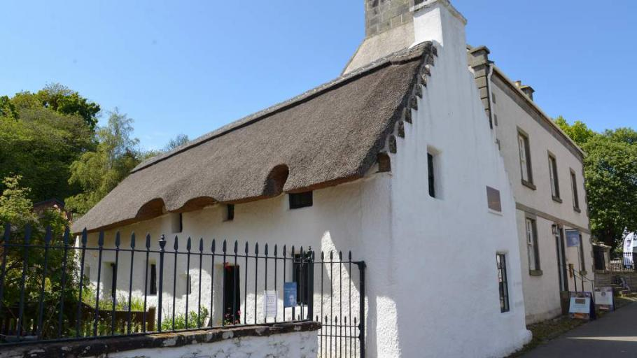 Hugh Miller's Birthplace - Photo by Home Farm B&B, Muir of Ord