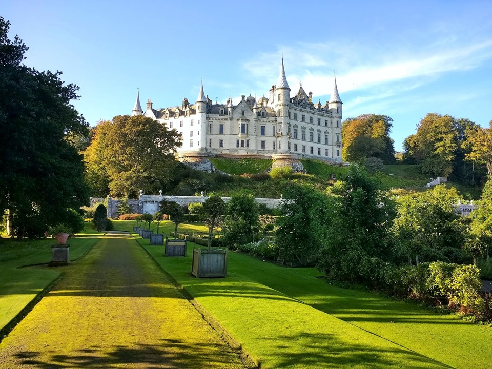 Dunrobin Castle - photo by Spean Lodge