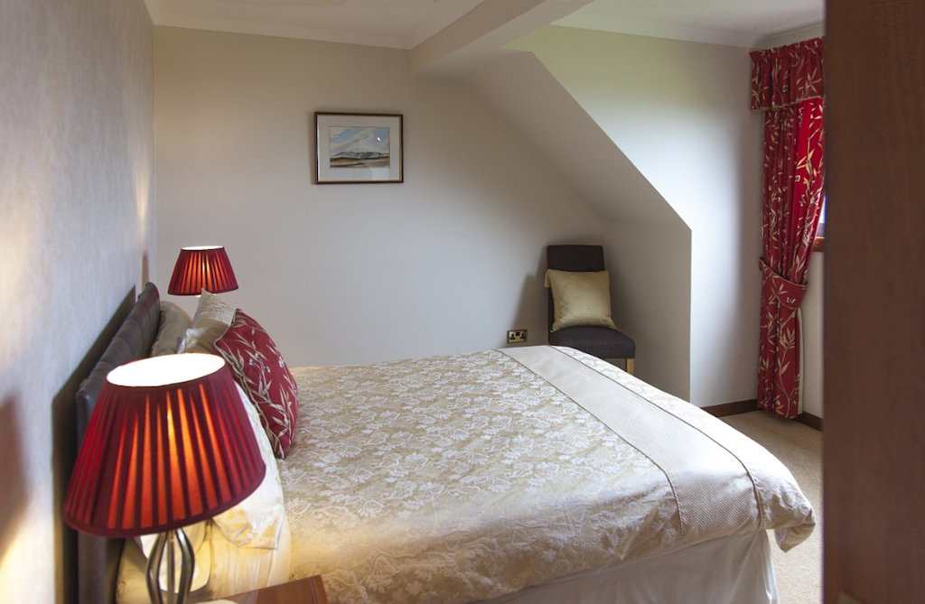 Ensuite double room at Strathgorm B&B on the Isle of Skye