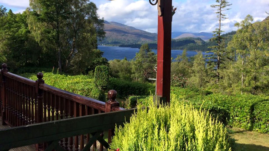 View from The Heathers B&B, Highlands