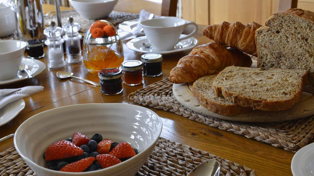 Breakfast at Brae House B&B Perthshire