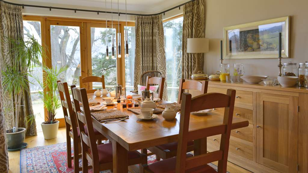 Breakfast at Brae House, Aberfeldy