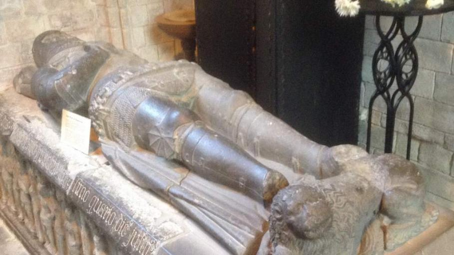 Alexander Stewart, Earl of Buchan known as the Wolf of Badenoch (1343 –1405) - Photo by Northlands B&B, Pitlochry