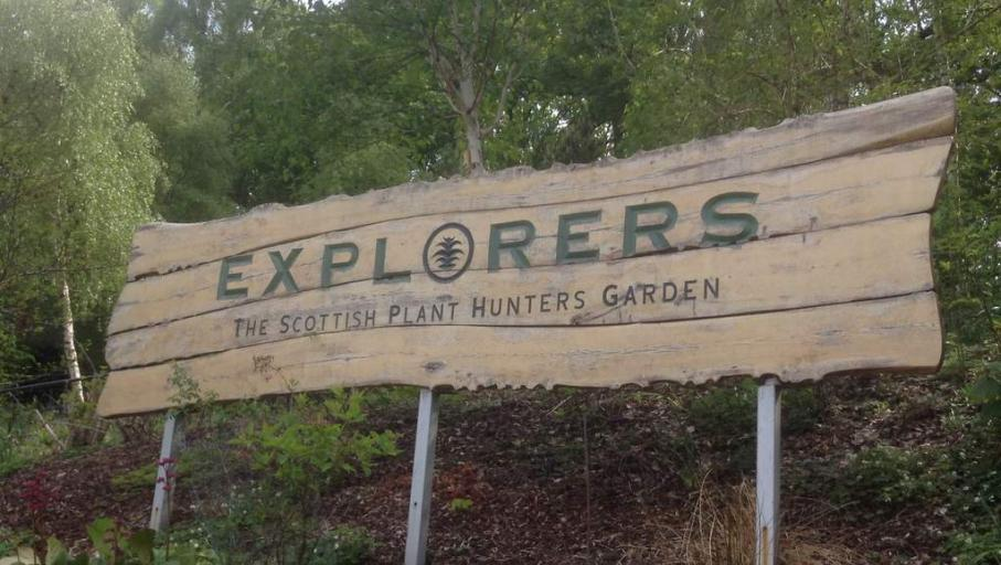 Plant Explorers Garden - Photo by Northlands B&B in Pitlochry