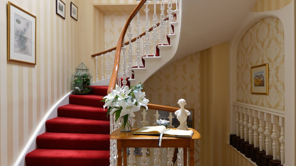 Original Feature staircase at Northlands B&B