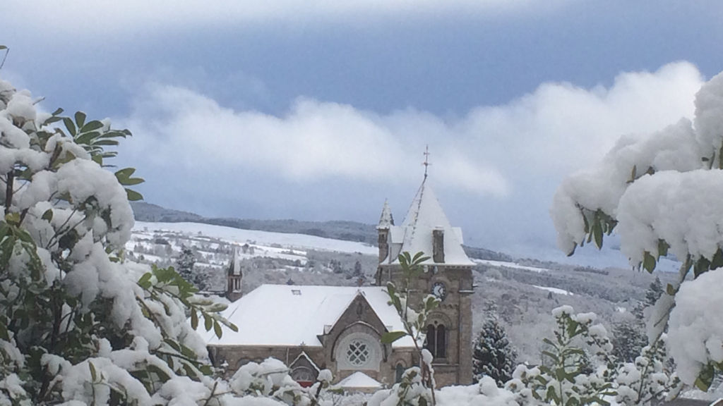 Pitlochry in winter