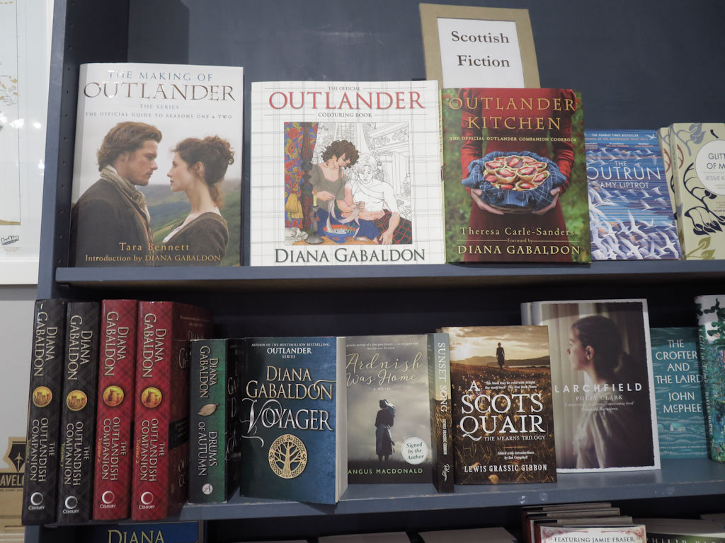 Outlander books in Scotland