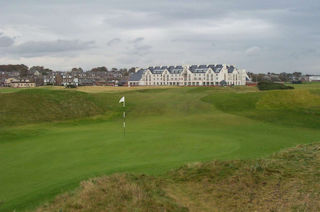 Carnoustie golf course, Angus & Dundee