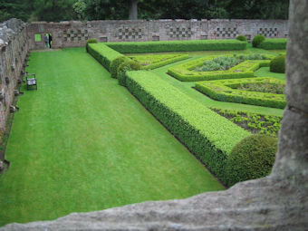 Gardens at Edzell Castle