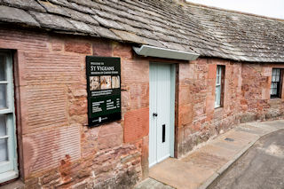 St Vigeans museum near Arbroath