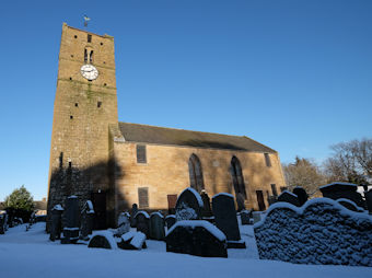St Serf's church Dunning
