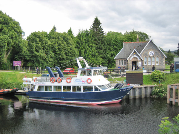 Cruises on Loch Ness from Fort Augustus