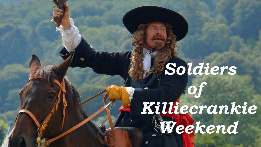 Soldiers of Killiecrankie re-enactment