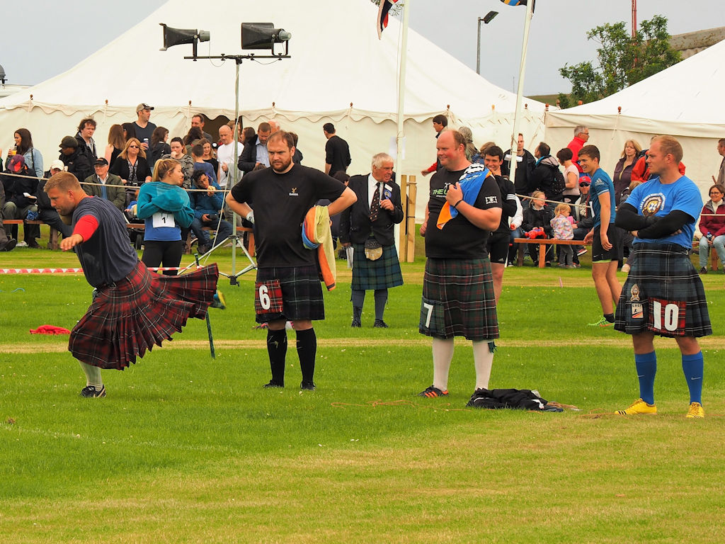 Heavies at Highland Games