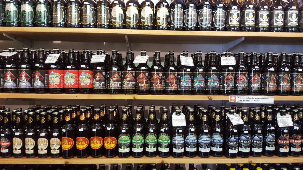 real ale shop Scotland