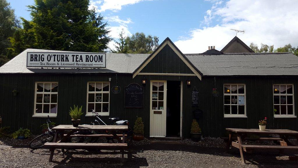 Brig o Turk tea room Scotland