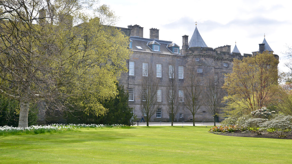 Palace of Holyrood - photo by Home Farm B&B