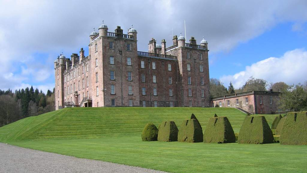 Drumlanrig Caste near Brookford B&B
