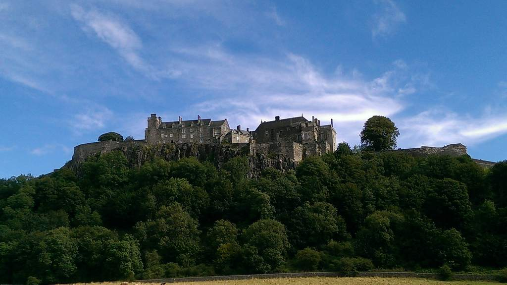 Stirling Castle - Photo by Garvally House in Alloa