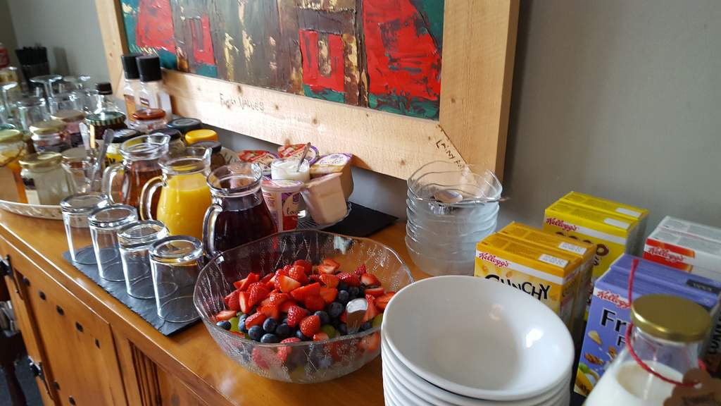 Breakfast at Parkhead B&B in Hopetoun