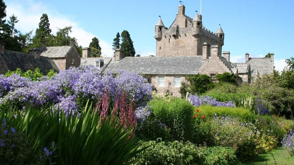 Cawdor Castle gardens, Scottish Highlands
