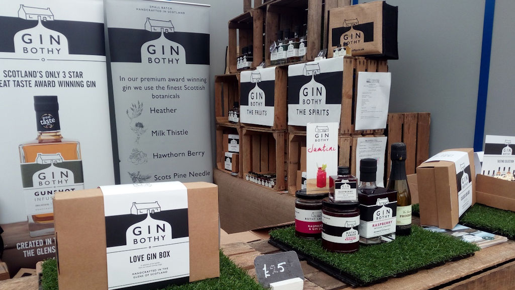 Gin Bothy products - photo by Duntrune House