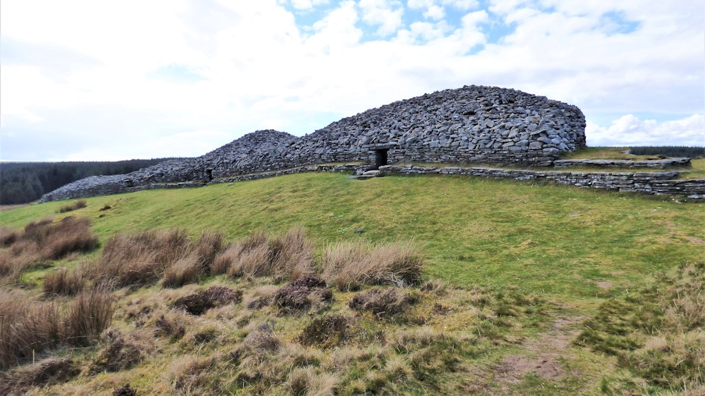 Long Cairn of Camster by Auld Post Office B&B