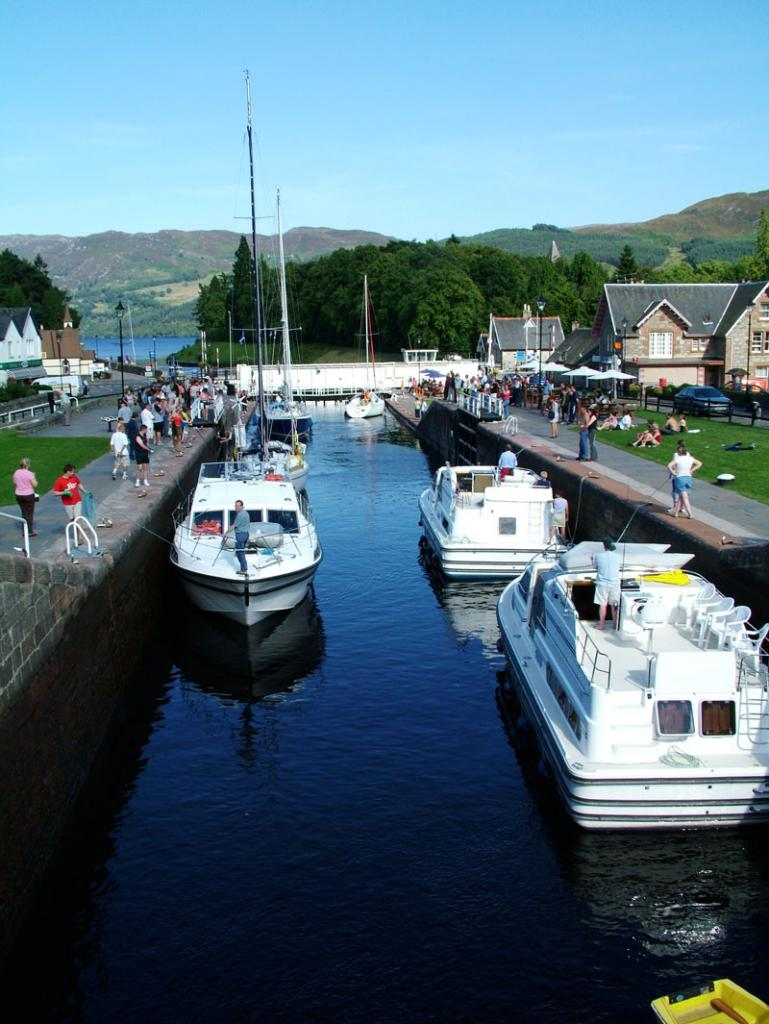 Caledonian Canal, Fort Augustus, Loch Ness