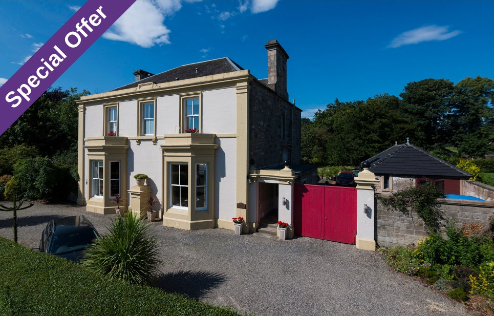 Garvally House B&B near Stirling