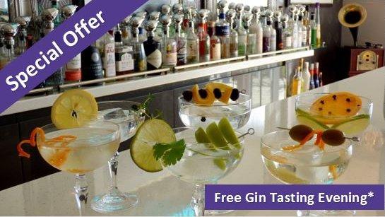 Free gin tasting offer