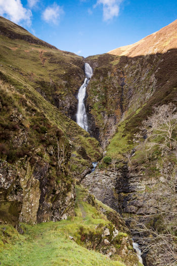 Grey Mare's Tail waterfall, photo by Kenny Lam / VisitScotland