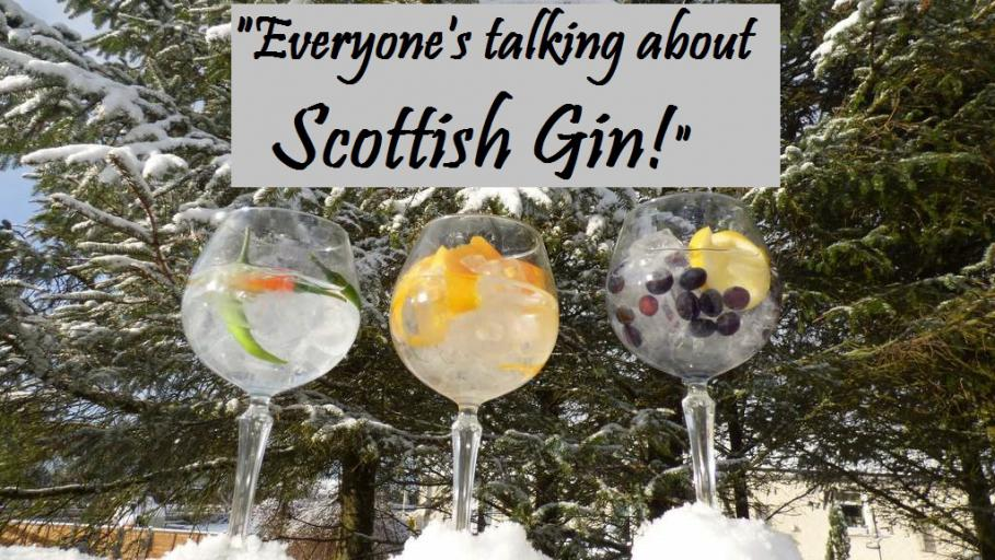 Everyone is talking about Scottish Gin